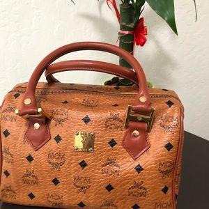 Mcm Cognac handbag